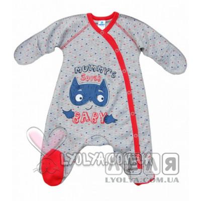 Купить Комбинезон «Super baby» красная окантовка ТМ Minikin