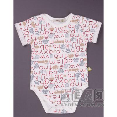 Боди-футболка Letters ТМ Няня