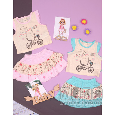 Комплект для девочки Веселый зайка ТМ Bembi