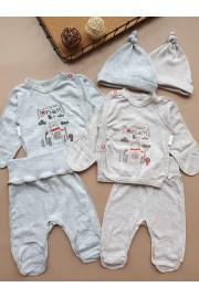 Купить Комплект с распашонкой для новорожденного Dreams ТМ Маленькие люди