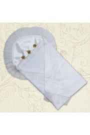 Крыжма Злата в молочном и белом цвете ТМ Betis