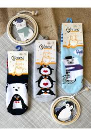 Махровые носочки Зима ТМ Bross