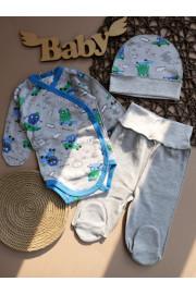 купить комплект с боди новорожденному мальчику