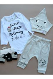Купить Комплект с боди для малышей HOME ТМ Miniworld