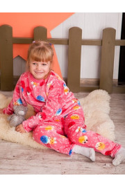 Пижама для девочки розовая