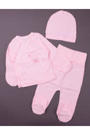 Комплект I love milk, розовый ТМ Фламинго