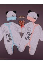 Комплект для новорожденных I love you Panda!