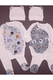 Комплект с боди для малышей Ленивцы
