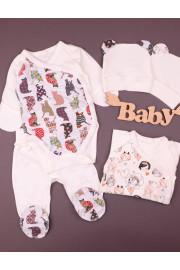 Комплект для новорожденных с боди Принцеска