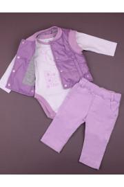 Комплект Spring melody фиолетовый ТМ Зиронька