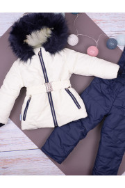 Теплый костюм для девочек ТМ Одягайко