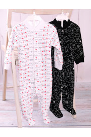 Человечек White and black ТМ Фламинго