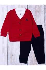 Комплект для мальчика красный