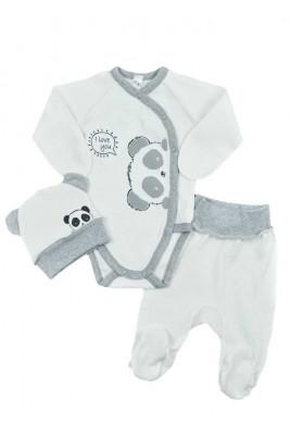 Комплект для новорожденных с боди Панда, ТМ Sweet Mario