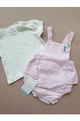 Купить Комплект для девочки песочник и ажурная футболка Яблочко ТМ Tongs