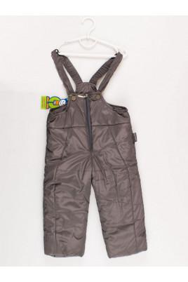 Полукомбинезон утепленный серый ТМ Одягайко