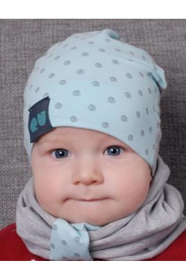 Детская демисезонная шапочка Нежность ТМ Olta