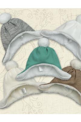 Теплая шапочка Снежок TM Betis