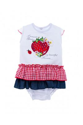 Боди-юбка Ароматная клубника Garden Baby