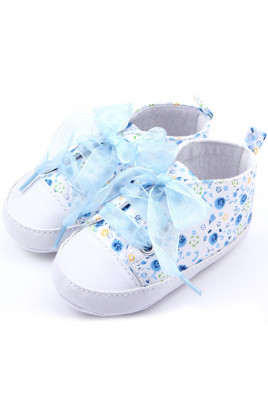 """Кеды для девочки """"Style"""" голубые"""