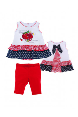 Комплект для девочки Ароматная клубника ТМ Garden Baby