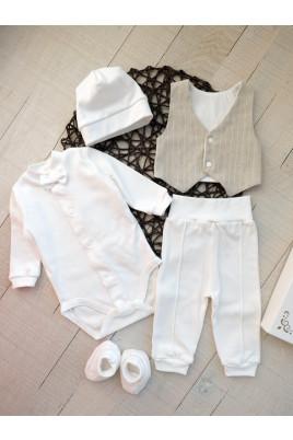 Нарядный комплект для новорожденного Руди, на байке