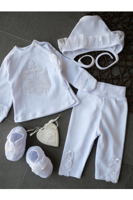 купить комплект на крещение  комплект для новорожденных