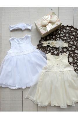 купить платье с повязкой для малышей Хуст Мироновка