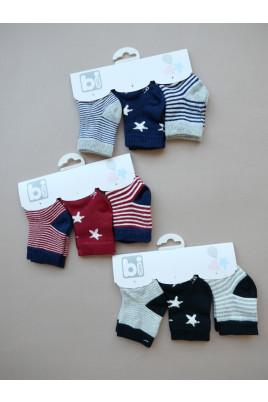 купить Набор носков для малышей Little Star ТМ BiBaby