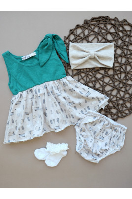 Комплект платье и трусики для девочки FOREST History ТМ Няня