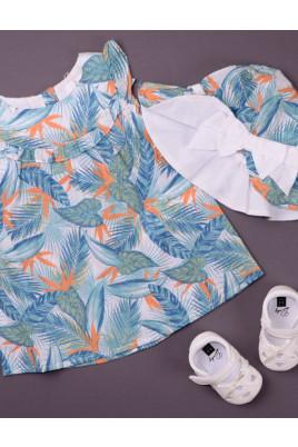 Летнее платье для девочки ТМ Bembi
