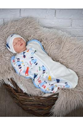 Пеленка на молнии Полет 0-3 мес ТМ Mag Baby