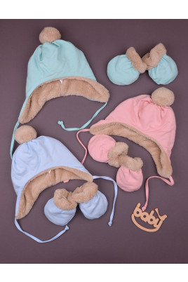 Шапочка для малыша Лапки ТМ Betis