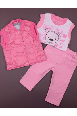 Комплект для девочки Spring melody розовый ТМ Зиронька