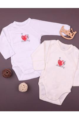 Боди для новорожденных I love daddy ТМ Фламинго