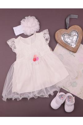 """Платье """"Цветик"""" ТМ Beyaz bebek (Турция)"""
