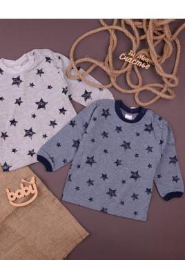 Кофточка с застежкой на плече Stars gray ТМ Верес