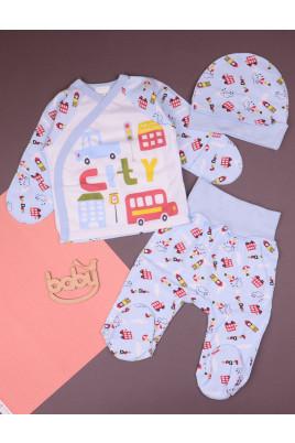 Комплект для новорожденных с распашонкой City