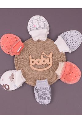 Царапки, рукавички для новорожденных ТМ Няня