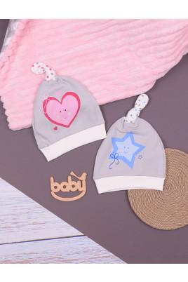 Шапочка-узелок для малышей ТМ Верес