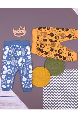 Штанишки трикотажные для малышей Mikki в разных цветах