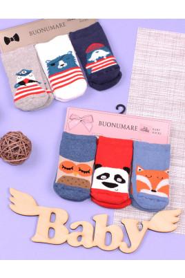Набор носков для малышей Пираты ТМ Buonumare baby