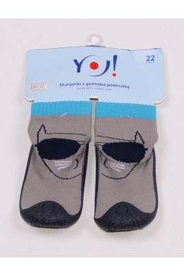 Носочки резиновая подошва YO!