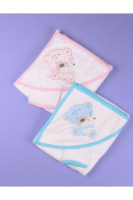 Полотенце для купания малышей Милый мишка