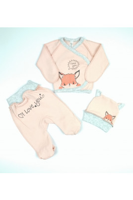 Комплект для новорожденных лисичка, ТМ Sweet Mario