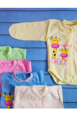 купить боди для малыша Милые жирафы кулир для новорожденного девочки мальчика