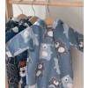 Комбинезон для малышей с капюшоном на подкладе Bear