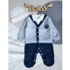 купить комплект для мальчика новорожденного на выписку крестины