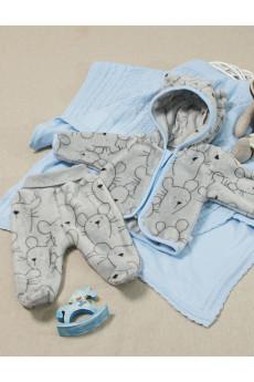 Теплый комплект с капюшоном для малышей Микки ТМ Кай и Герда