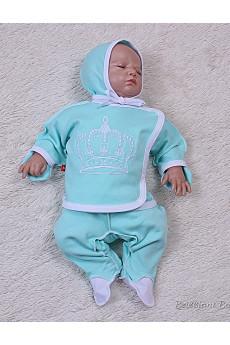 Комплект для новорожденного Queen, 3предмета